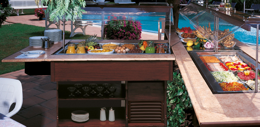 Vetrine refrigerate per ristoranti