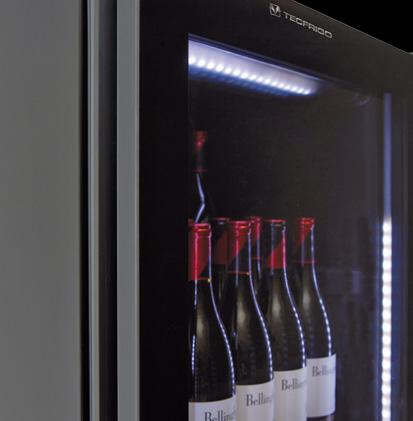Vetrinette refrigerate per vino e liquori